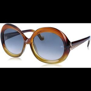 Never worn Balenciaga oversized sunglasses
